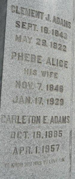 Phebe Alice <i>Tilton</i> Adams