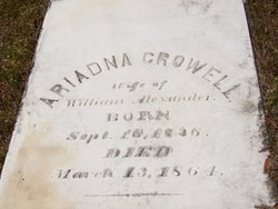 Ariadna Cantey <i>Crowell</i> Alexander