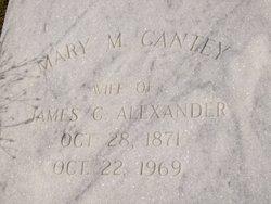 Mary M. <i>Cantey</i> Alexander