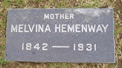 Melvina <i>Wilbur</i> Hemenway