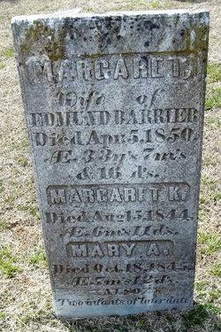 Margaret T <i>Blackwelder</i> Barrier