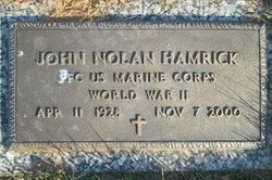 PFC John Nolan Hamrick