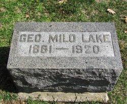 George Milo Lake