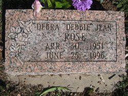 Debra Jean Debbie <i>Parten</i> Rose