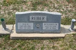 Ida Harriet <i>Peek</i> Reiber