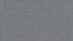 AMM1 William Benbow