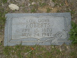 Louisa Floria Virginia Lou <i>Dove</i> Roberts