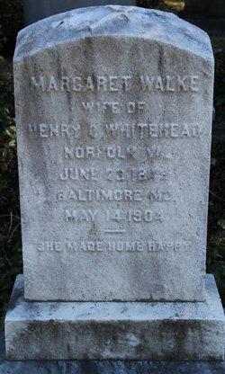 Margaret Walke <i>Taylor</i> Whitehead