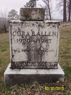 Blanche Cora <i>Eads</i> Allen