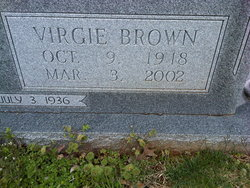 Virgie <i>Brown</i> Allen