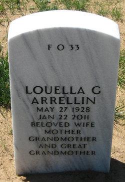 Louella <i>Gallegos</i> Arrellin