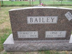 Forrest Everal Bailey