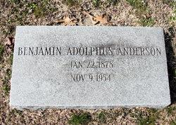 Benjamin Adolphus Anderson