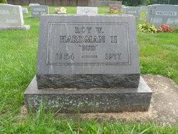 Roy Wilbur Hardman, II