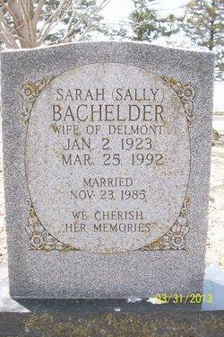 Sarah Sally Bachelder