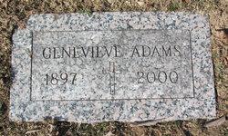 Genevieve M <i>Deufel</i> Adams
