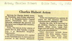 Charles Hubert Acton