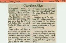 Georgiana <i>Blair</i> Allen