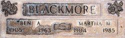 Benjamin A Blackmore