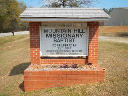 Mountain Hill Missionary Baptist Church Cemetery