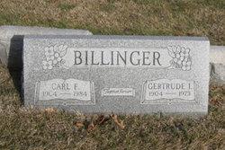 Carl F Billinger