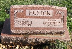 Dr A. Lincoln Huston