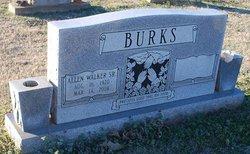 Allen Walker Burks, Sr