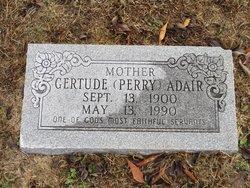 Gertude <i>Perry</i> Adair