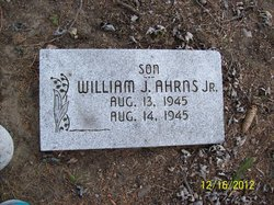 William J Ahrns, Jr
