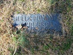 Helen <i>Quarles</i> Anderson