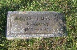 Elizabeth <i>Mangan</i> Anthony