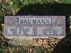 Marie <i>Trieloff</i> Baumann