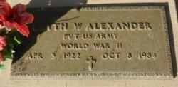 Edyth Walden Alexander