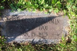 Ruth <i>Cobb</i> Benjamin Frisbie