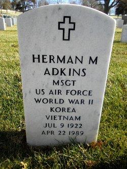 Herman M Adkins