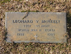 Leonard V McNeely