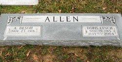 A Desoit Allen