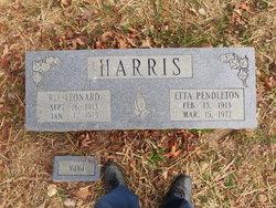 Etta Grace <i>Pendleton</i> Harris