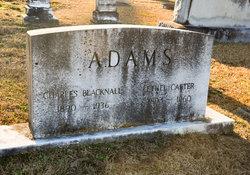 Ethel M <i>Carter</i> Adams