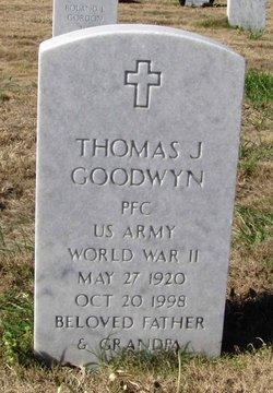 Thomas J Goodwyn