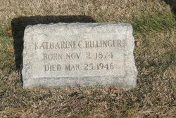 Katherine <i>Dauth</i> Billinger
