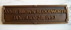 Annie Laurie <i>Brown</i> Bloodworth