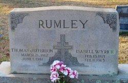 Isabel <i>Wyrick</i> Rumley