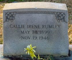 Callie Irene Rumley