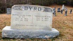 Martha Lucenia <i>Harris</i> Byrd