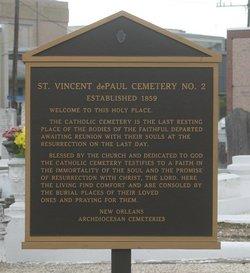 Saint Vincent De Paul Cemetery #2 (Soniat St)
