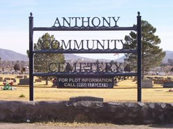 Anthony Community Cemetery