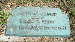 Edith M <i>Johnson</i> Bandt