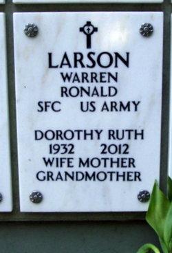 Dorothy Ruth Larson
