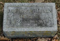 Merle Juliette <i>Milliken</i> Denzler